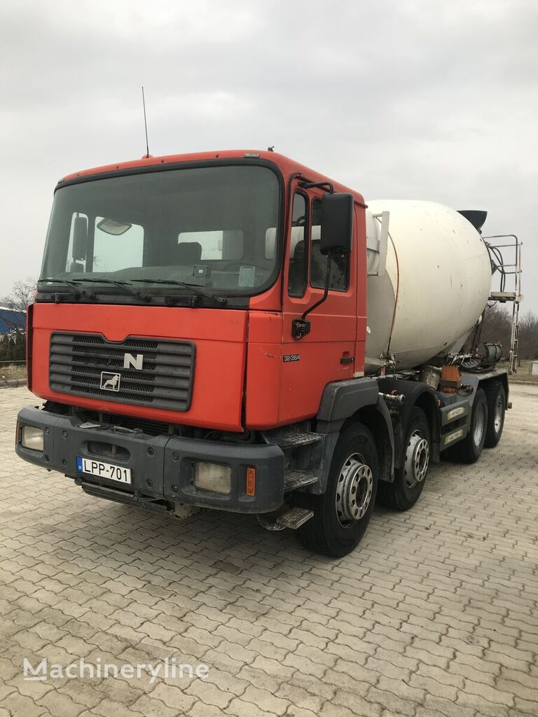 Liebherr  on chassis MAN F2000 concrete mixer truck