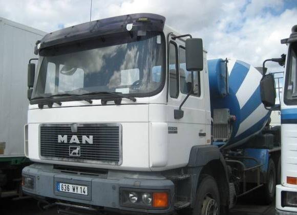 MAN Non spécifié concrete mixer truck