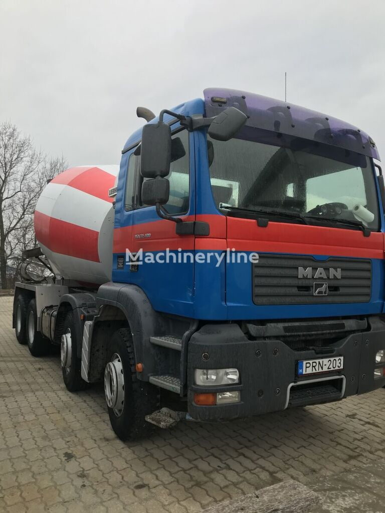 Liebherr  on chassis MAN TGA 32.400 concrete mixer truck