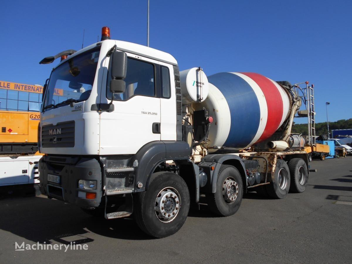MAN TGA 35.350 concrete mixer truck