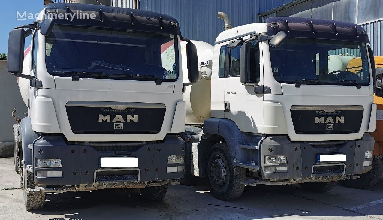 Liebherr  on chassis MAN TGA 35.400 concrete mixer truck