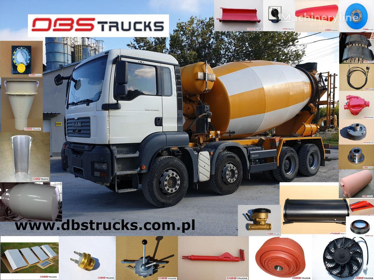 MAN TGA 41.360 concrete mixer truck