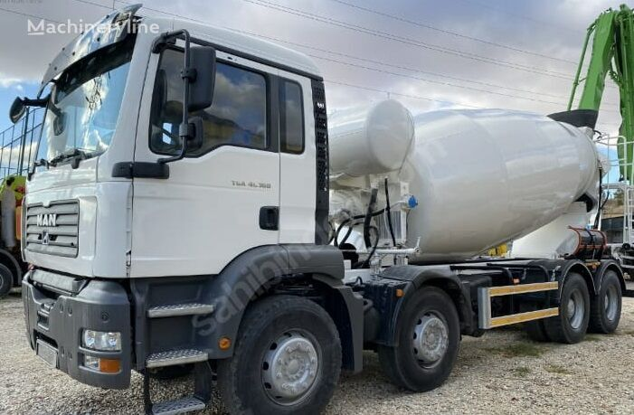 IMER Group  on chassis MAN TGA 41.360 concrete mixer truck