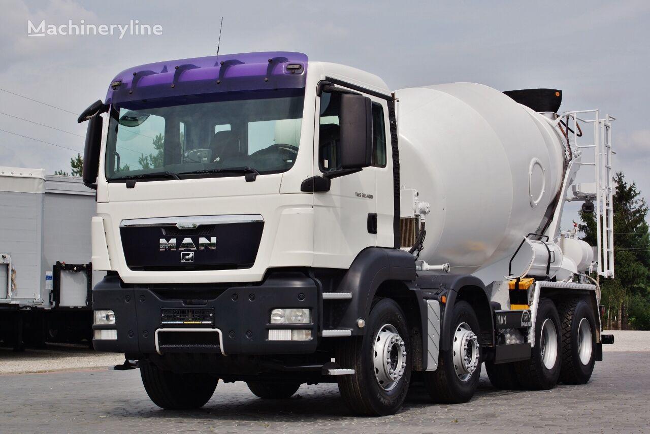 MAN TGS 32.400 concrete mixer truck
