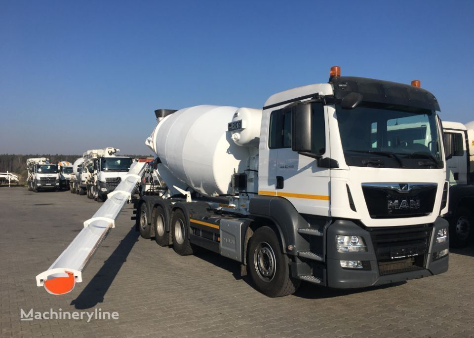 new MAN TGS 35.420 TRIDEM concrete mixer truck