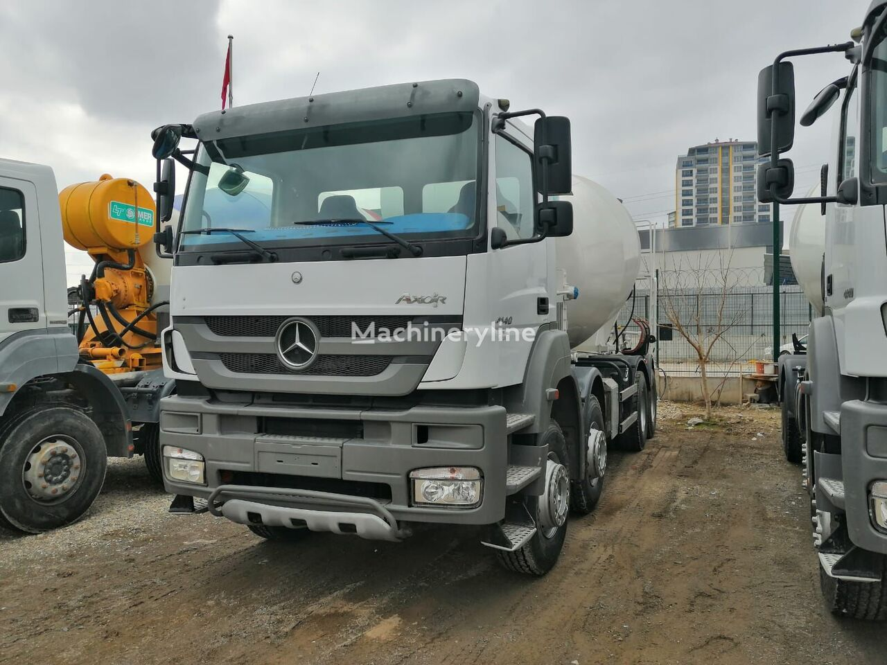 IMER-L&T 2016 on chassis MERCEDES-BENZ concrete mixer truck