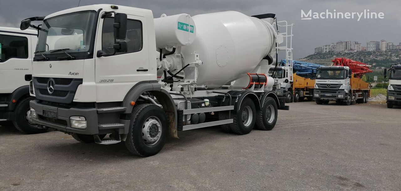 IMER-L&T 2008 on chassis MERCEDES-BENZ 2008 concrete mixer truck
