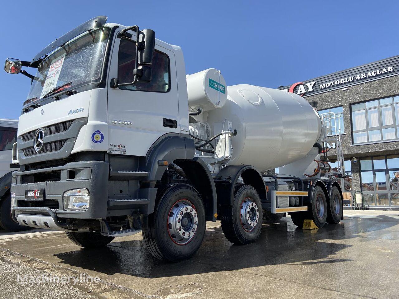 IMER Group  on chassis MERCEDES-BENZ 2015 MODEL 4 ADET 4140 AXOR MERCEDES 12 m2 IMER TRANSMIKSER concrete mixer truck