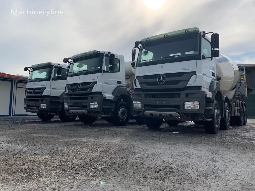 MERCEDES-BENZ 2016 MODEL 4140 MERCEDES MİXER 12 PİECE READY  concrete mixer truck