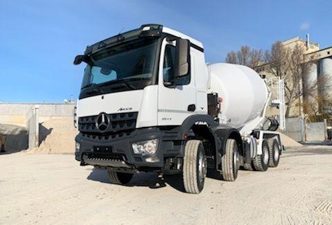 MERCEDES-BENZ 3543 concrete mixer truck