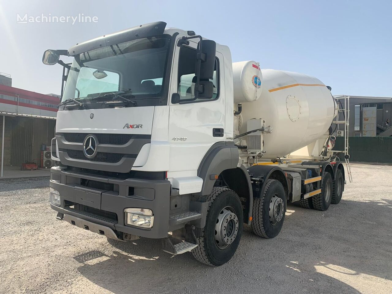 NT Grup  on chassis MERCEDES-BENZ 4140 concrete mixer truck