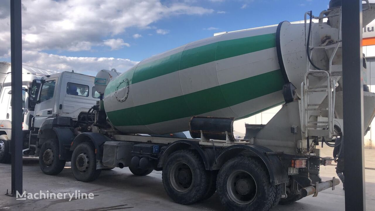 NT Grup 2016 on chassis MERCEDES-BENZ 4140 AXOR 8X4 MIXER 12M CUBIC concrete mixer truck