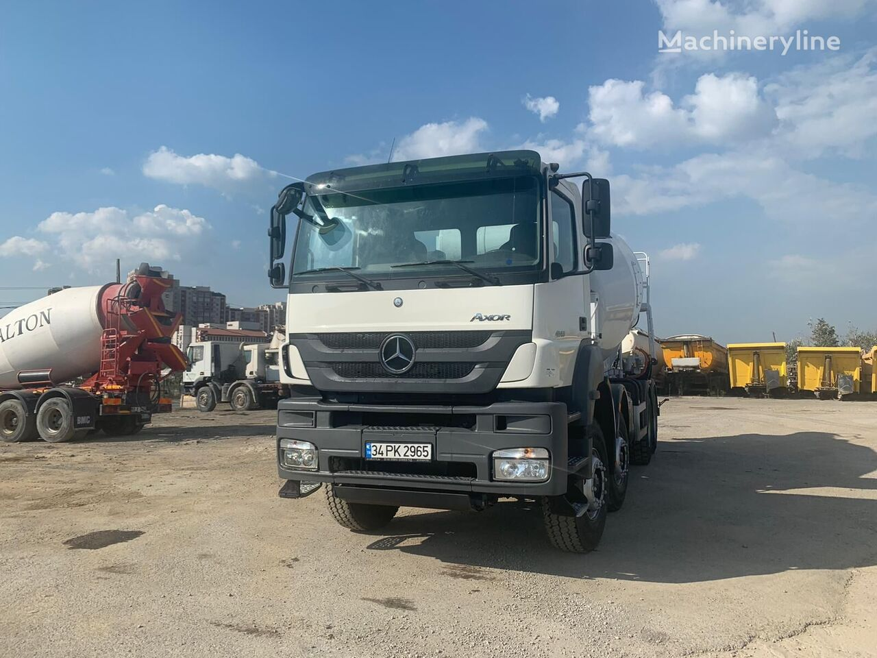 IMER Group 2020 on chassis MERCEDES-BENZ  4140 IMER 12M3 BRAND NEW DRUMS  3 UNITES  concrete mixer truck