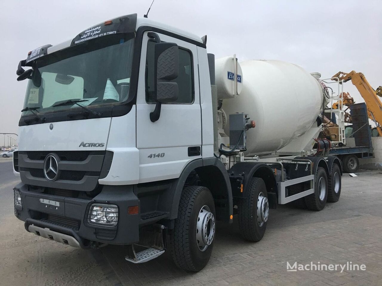 new MERCEDES-BENZ ACTROS 4140 concrete mixer truck
