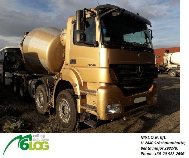 MERCEDES-BENZ AXOR 3240 B concrete mixer truck