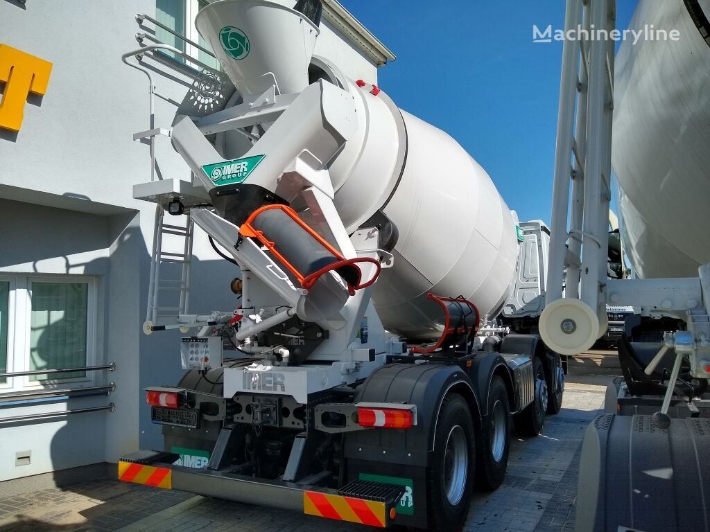 new IMER Group 95 EH on chassis MERCEDES-BENZ Arocs 3740 IMER 95 EH concrete mixer truck