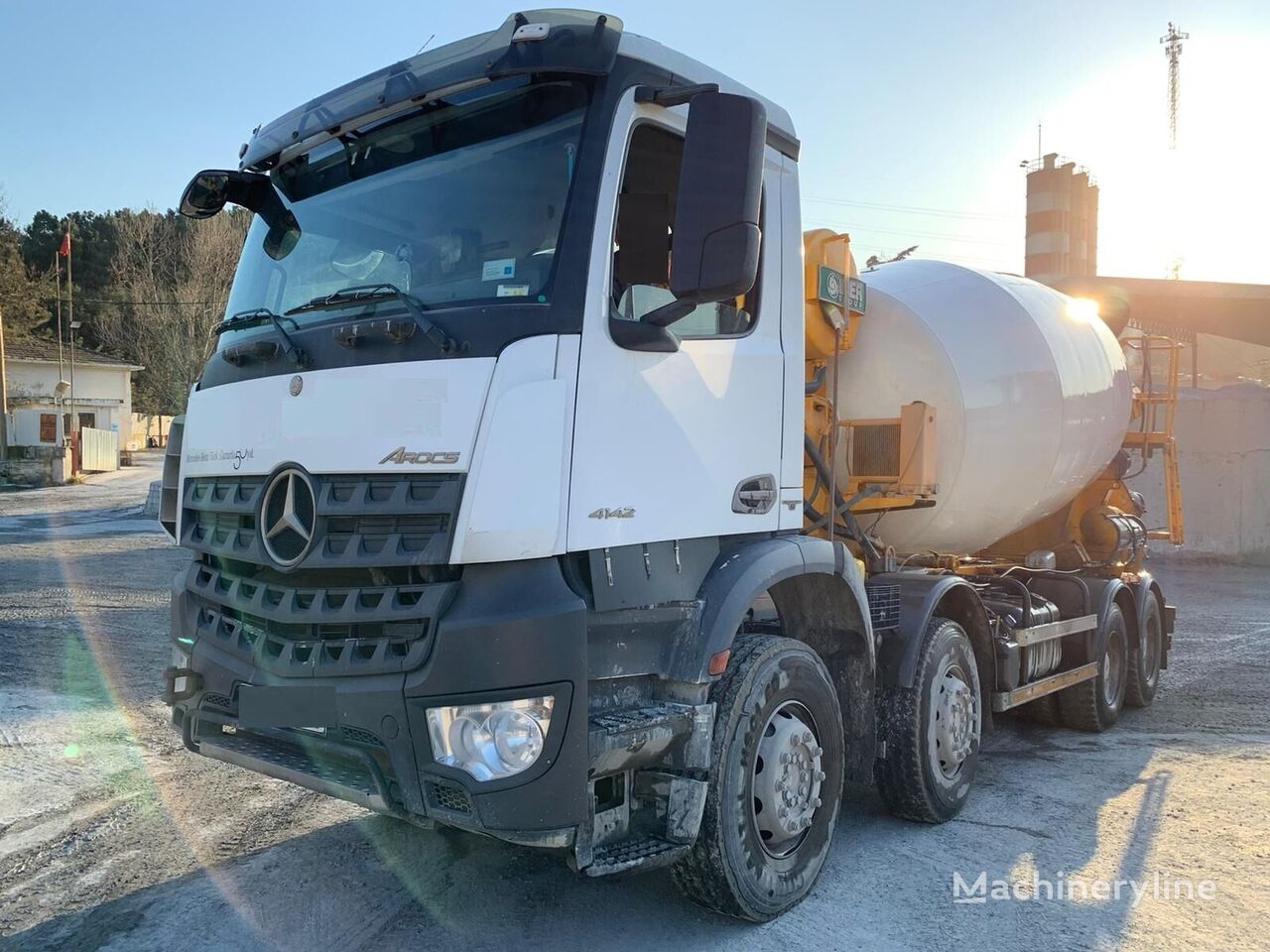 MERCEDES-BENZ Arocs 4142 concrete mixer truck