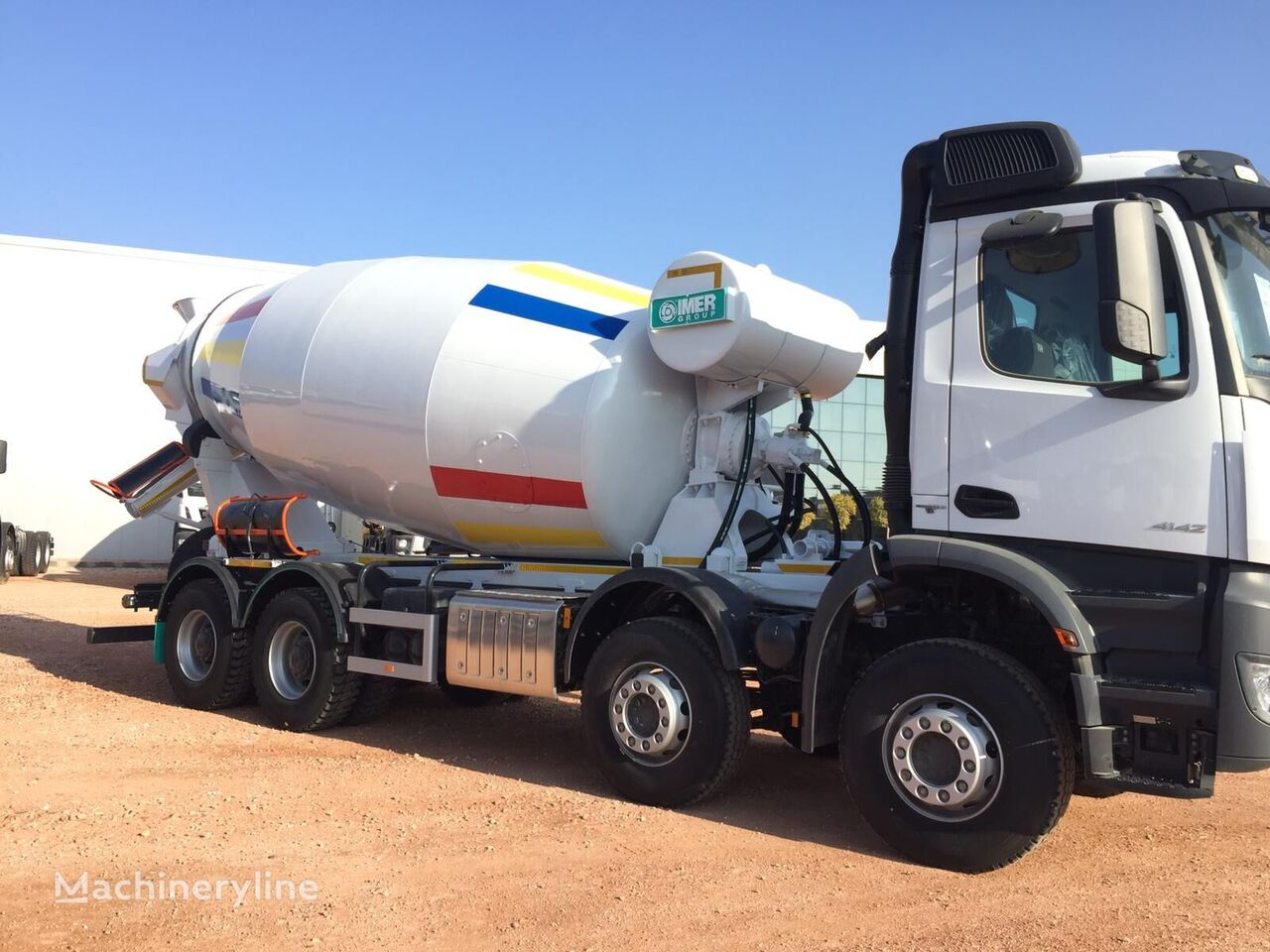 new IMER-L&T 2020 on chassis MERCEDES-BENZ Arocs 4142 B concrete mixer truck