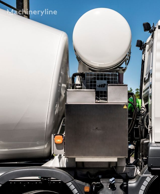 new MERCEDES-BENZ Arocs 4142B Hybride concrete mixer truck