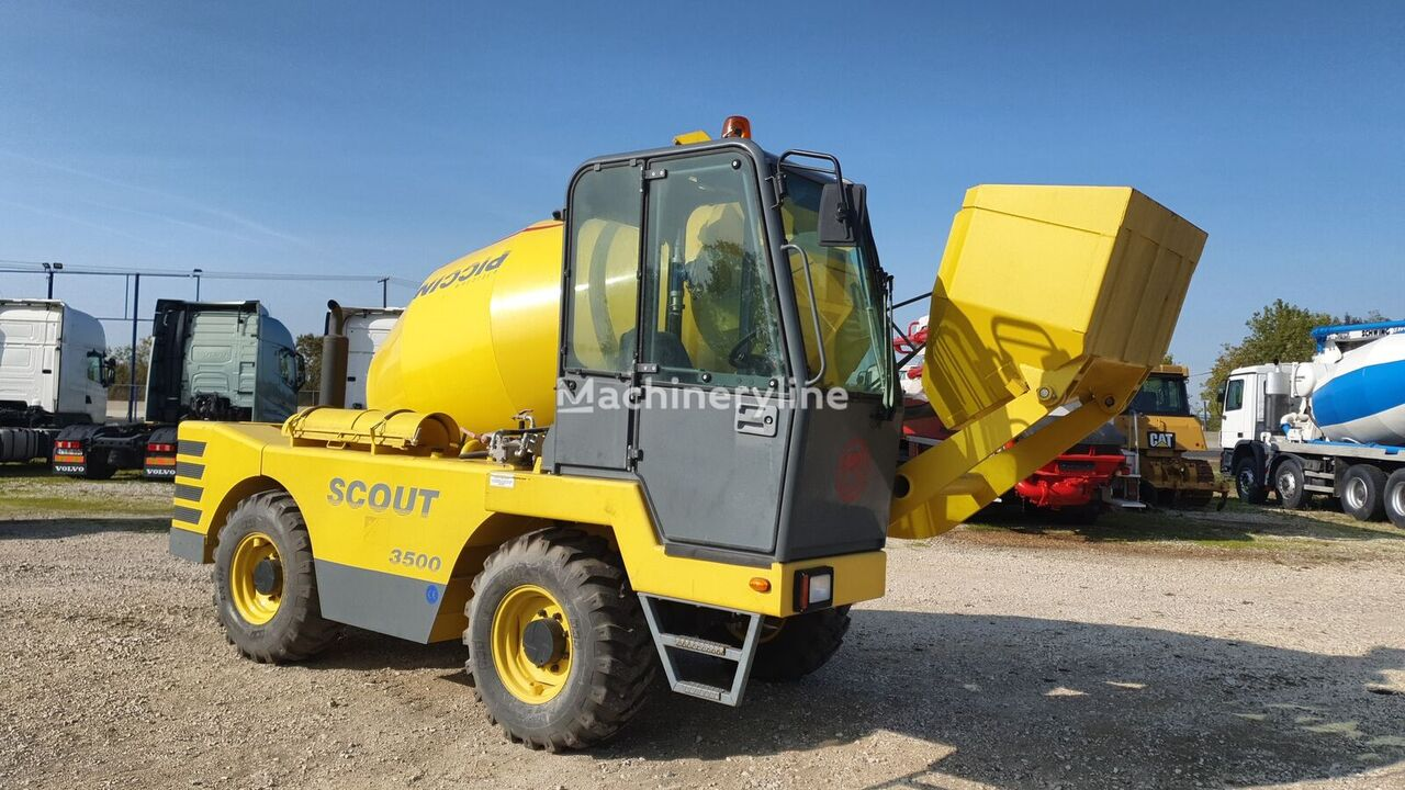 Piccini Scout 3500 concrete mixer truck