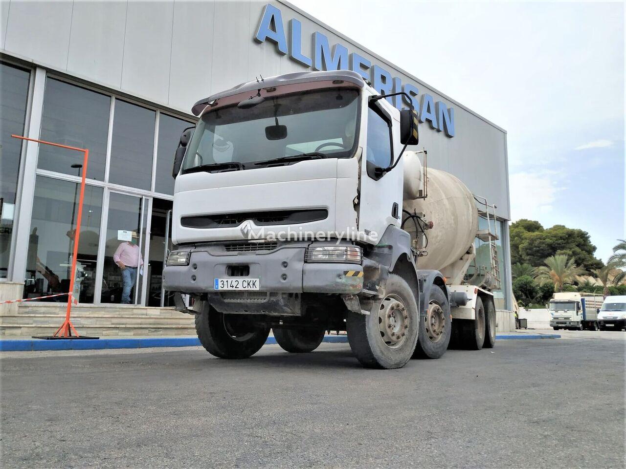 RENAULT  KERAX 370 HORMIGONERA concrete mixer truck