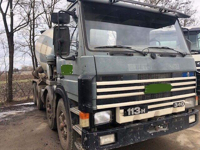 Karrena  on chassis SCANIA 113 H 8x4 concrete mixer truck