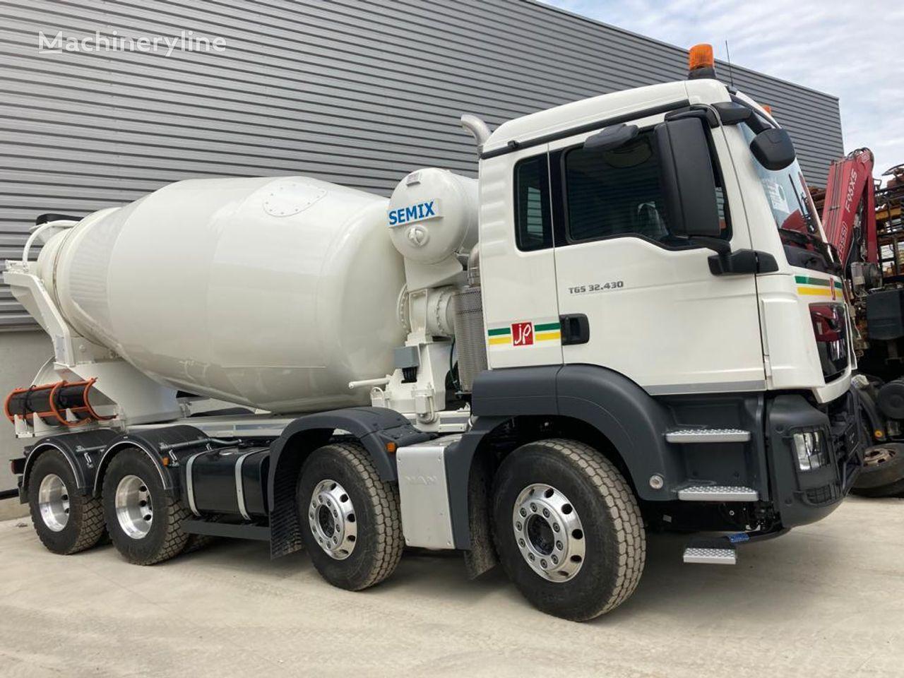 new SEMIX SM9  concrete mixer truck