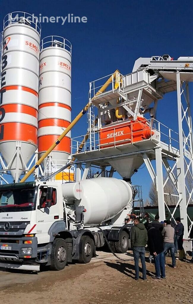 new SEMIX TRUCK MOUNTED CONCRETE MIXER SM9 concrete mixer truck