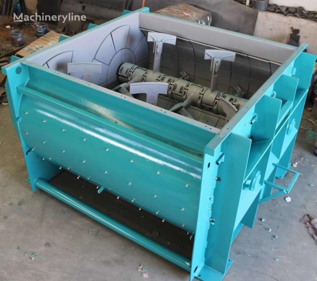 new CONSTMACH HIGH QUALITY TWIN SHAFT MIXER concrete mixer