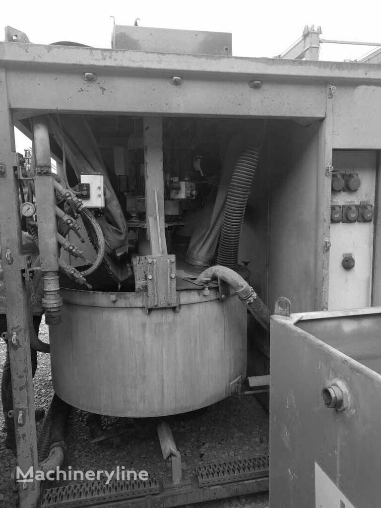Obermann MPR800 concrete mixer