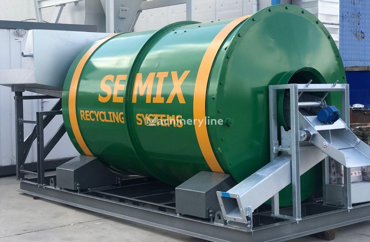 new SEMIX RECYCLER SMRC 15 concrete mixer