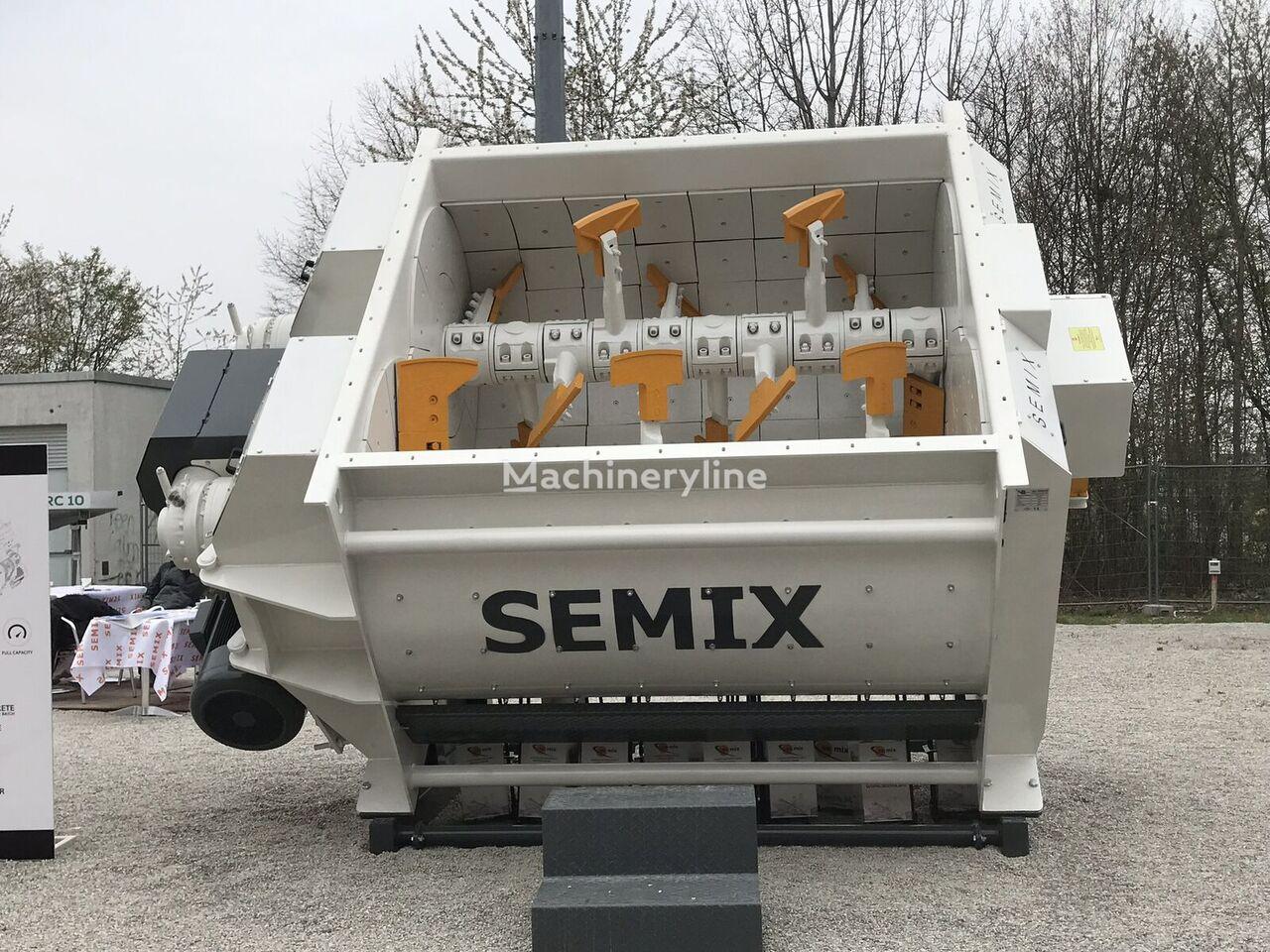 new SEMIX Twin Shaft Concrete Mixer TS 3.33 concrete mixer