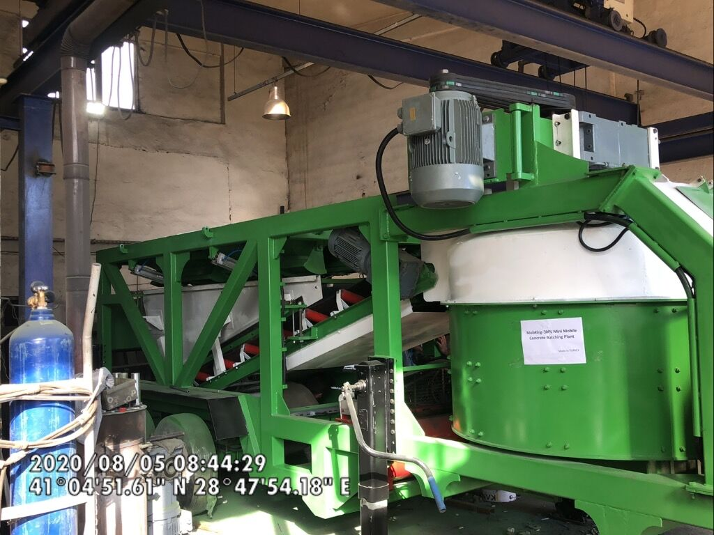 new CONMACH MOBKING-30 concrete plant