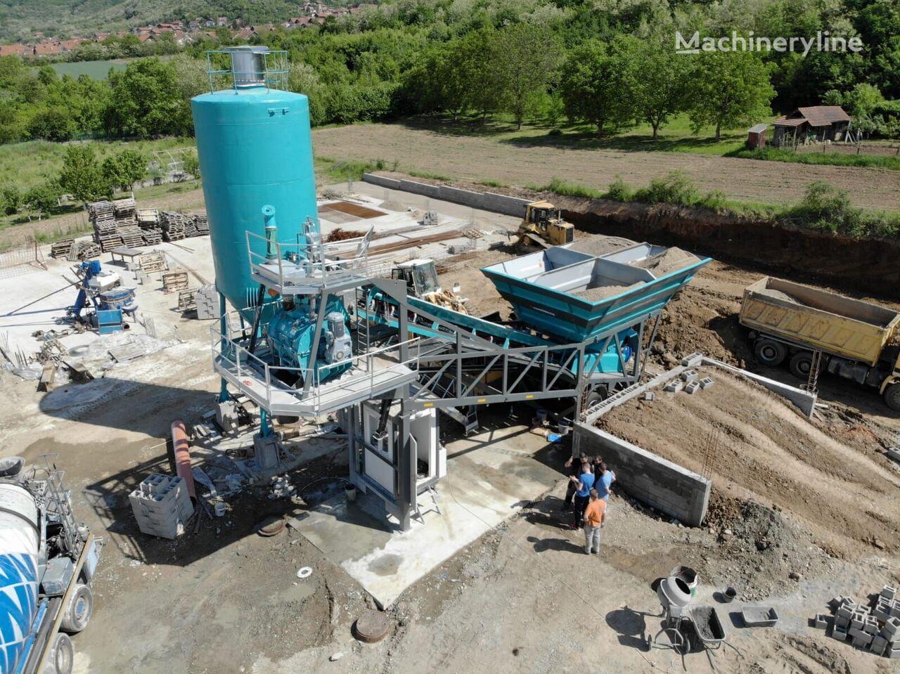 new CONSTMACH 30 m3/h MOBILE CONCRETE PLANT, BEST PRICE & QUALITY concrete plant