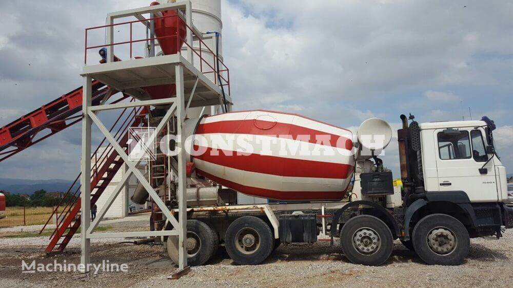 new CONSTMACH DRYMIX - 60 | DRY MIX CONCRETE PLANT - CONSTMACH TURKEY'S LEADIN concrete plant
