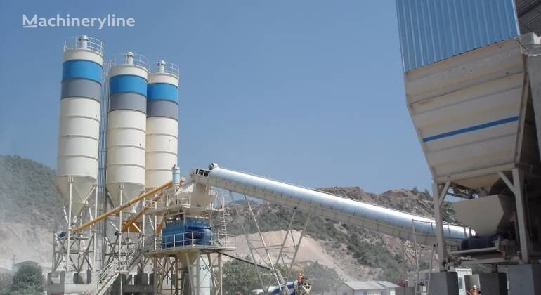 new CONSTMACH STATIONARY TYPE CONCRETE PLANT, 120 m3/h CAPACITY, THE MOST REAS concrete plant