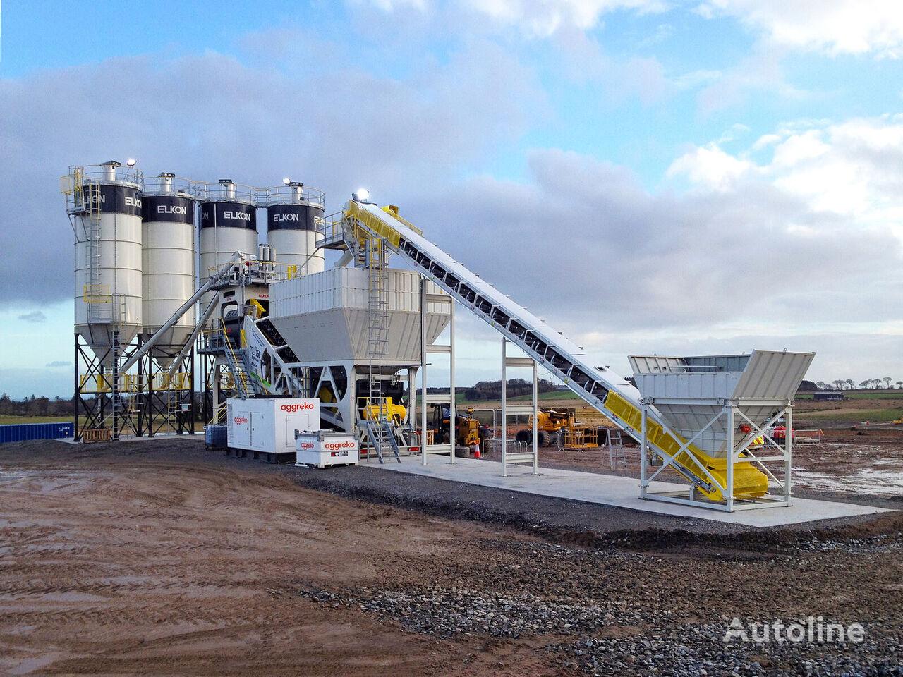 new ELKON ELKON Mobile Master-150 Elephant Mobile Concrete Batching Plant concrete plant