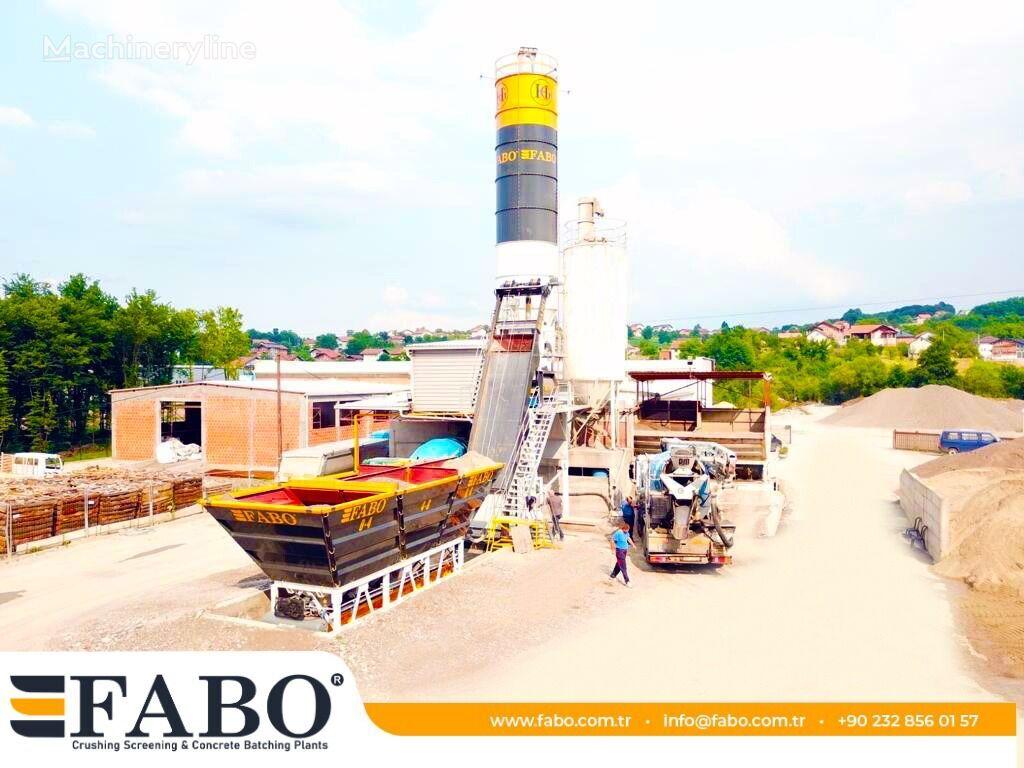 new FABO MIX COMPACT-60 CONCRETE  PLANT | NEW PROJECT concrete plant