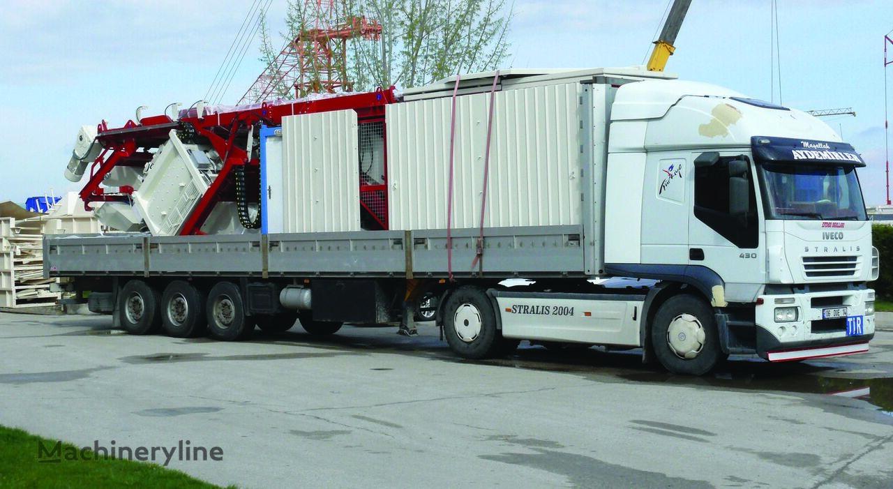 new GURIS GCP 120 CT concrete plant