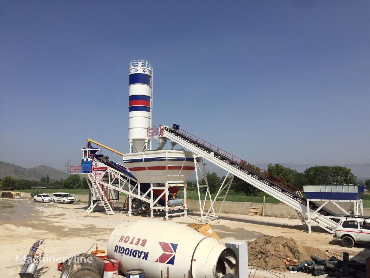 new GURIS GMP 120 CT concrete plant
