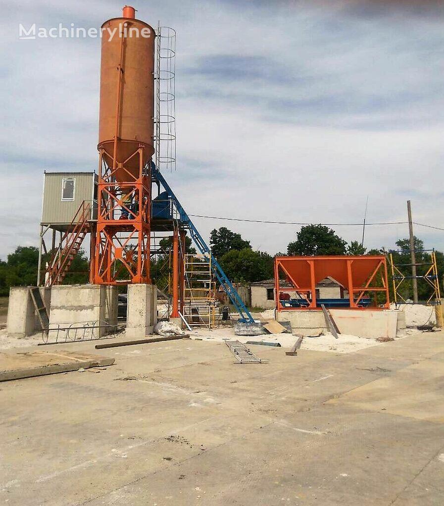 new MZBU (Monolit) Betonniy zavod ABZU-25 concrete plant