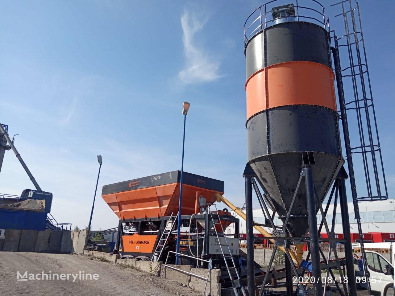 new POLYGONMACH PAC30 concrete plant