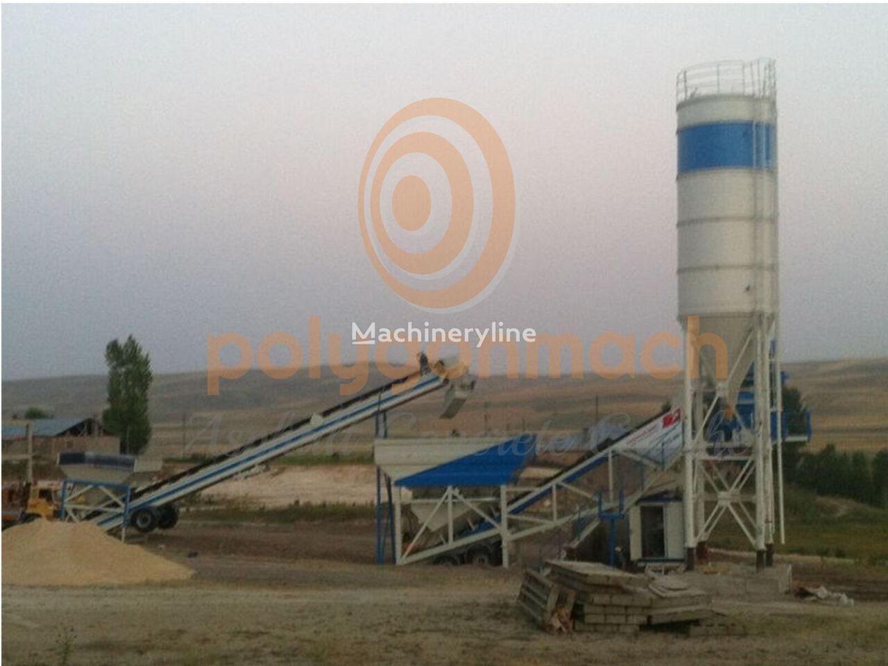 new POLYGONMACH PMC-60 concrete plant