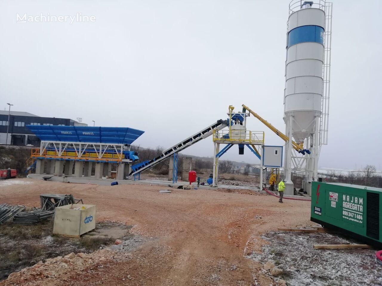 new PROMAX Centrale à Béton Compacte C60-SNG LINE (60m³/h) concrete plant