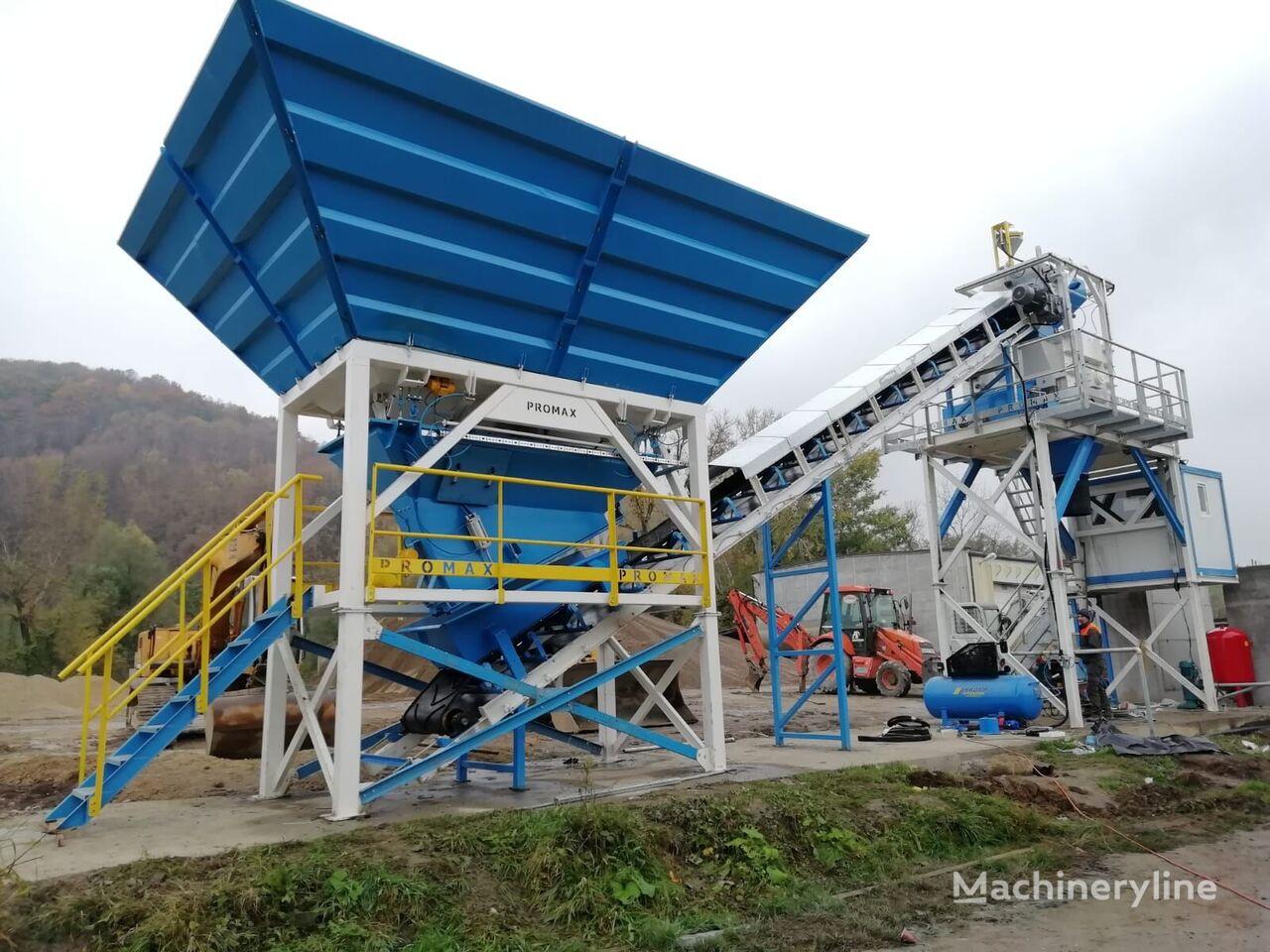 new PROMAX Compact Concrete Batching Plant C60-SNG-PLUS (60m3/h) concrete plant