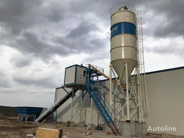 new PROMAX Compact Concrete Batching Plant PROMAX C60 SNG PLUS(60m³/h) concrete plant