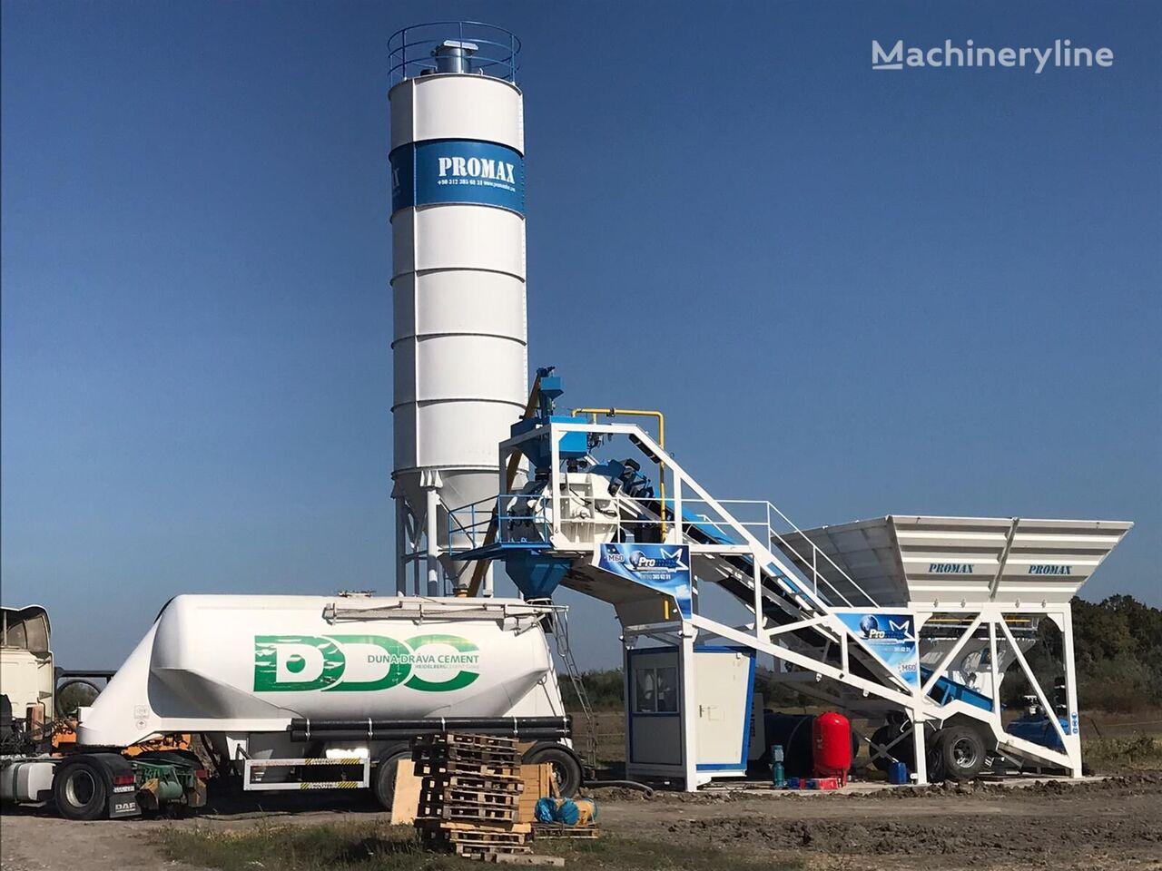 new PROMAX M60-SNG concrete plant