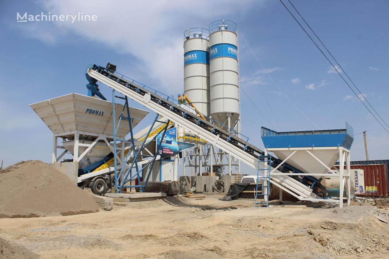 new PROMAX Mobile Concrete Batching Plant M100 (100m3/h) concrete plant