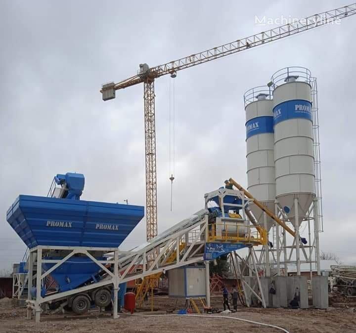 new PROMAX Mobile Concrete Batching Plant M120-TWN (120m3/h) concrete plant