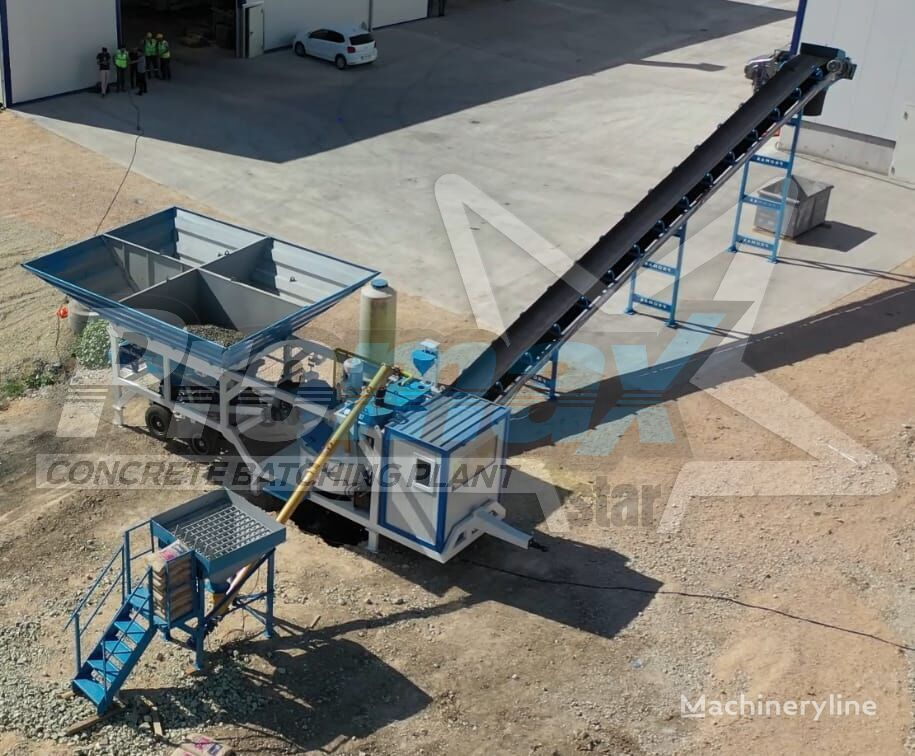 new PROMAX Mobile Concrete Batching Plant M35-PLNT (35m3/h) concrete plant